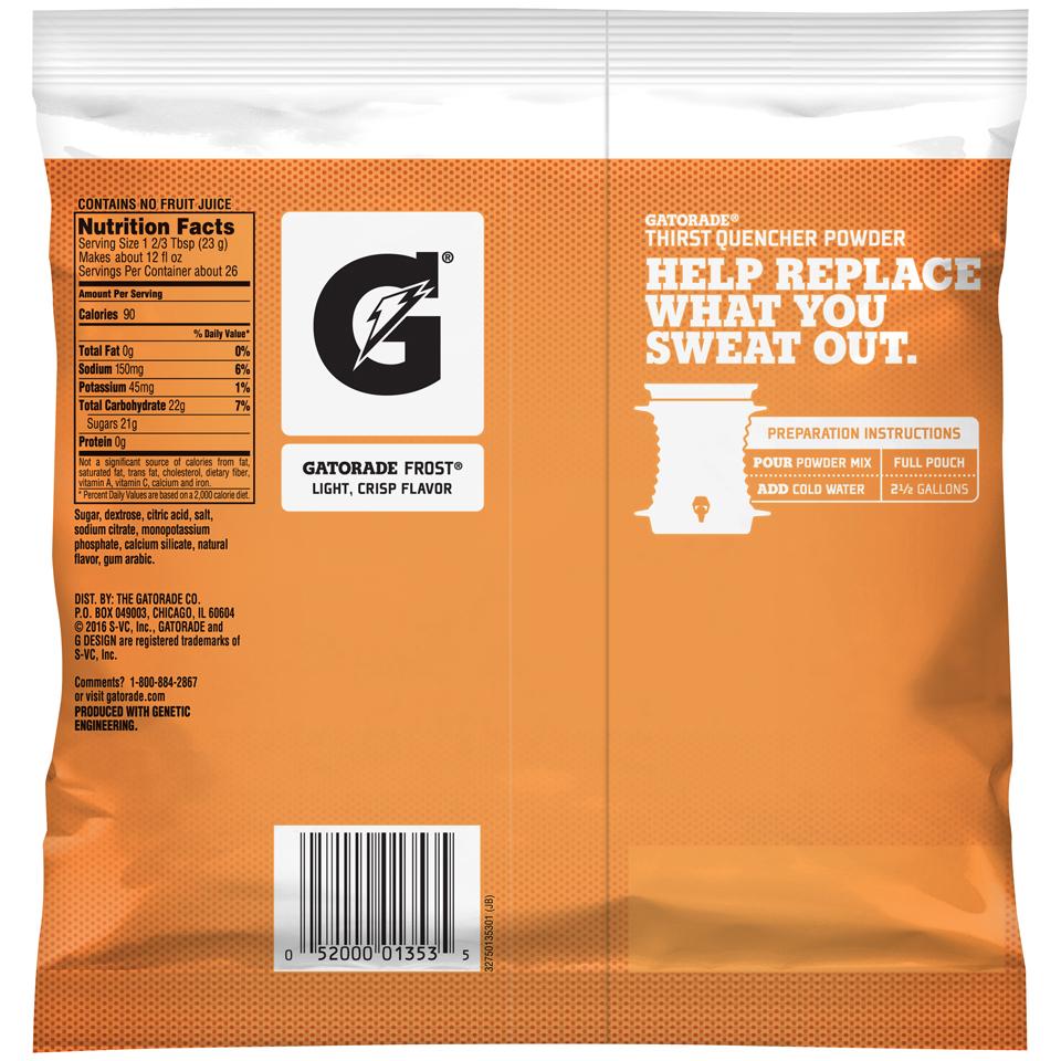 Gatorade Towel For Sale: Gatorade Glacier Cherry 2.5 Gallon Instant Powder