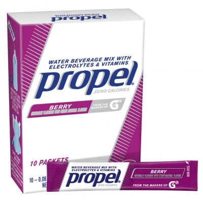 Propel Zero Calorie Berry Powder Packets - Propel Packs w/Electrolytes