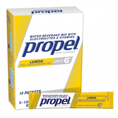 Propel Zero Calorie Lemon Powder Packets - Propel Packs w/Electrolytes