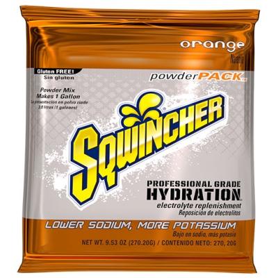 Sqwincher Orange 1 Gallon Powder Pack