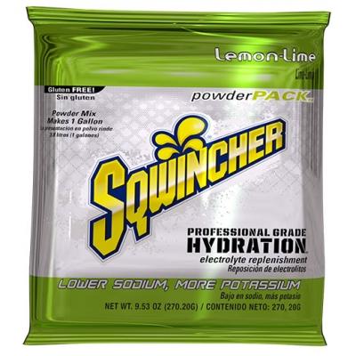 Sqwincher Lemon Lime 1 Gallon Powder Pack