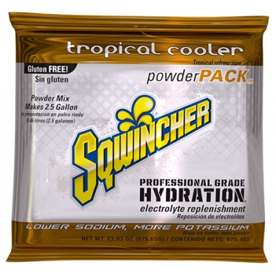Sqwincher Tropical Cooler 2.5 Gallon Powder Pack