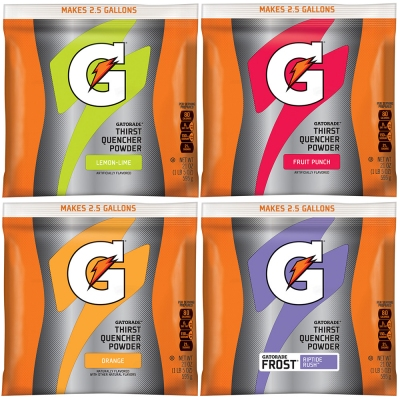 Buy Gatorade Powder Variety Pack 2.5 Gallon - 21 oz. Instant Powder Mix on sale online