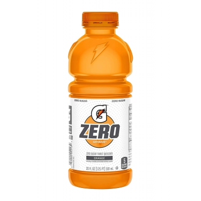Gatorade Zero Orange Thirst Quencher (Pack of 24)