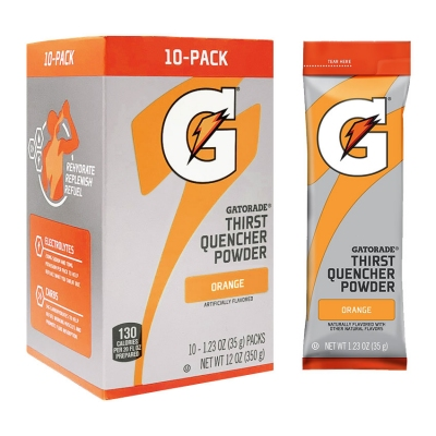 Buy Gatorade Orange 1.23 oz Powder Sticks - Instant Gatorade Packs (Pack of 80) on sale online