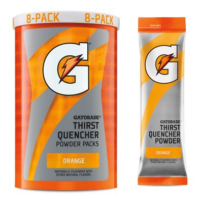 Gatorade Orange 1.34 oz Powder Packets - Instant Gatorade Packs