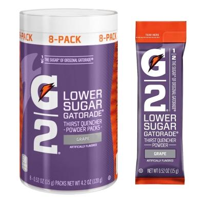 G2 Grape .52 oz Powder Sticks Pack - Low Calorie Sports Drink