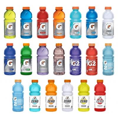 Gatorade 20 oz Wide Mouth Bottle - 24 Bottles by Pallet
