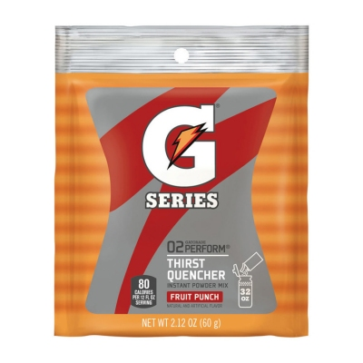 Gatorade Fruit Punch 1 Quart Instant Powder - 2.12 oz