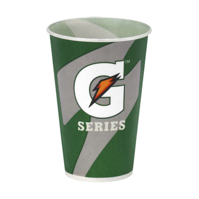Wholesale Gatorade Paper Cups - 7oz. Waxed Paper Cups 2000/cs