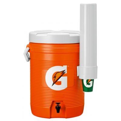 Gatorade 5 Gallon Cooler - Original Bright Orange-Design Cooler