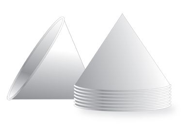 Wholesale Disposable Gatorade Cone Cups - 6 oz Paper Cups 2400/cs