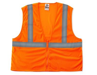 Safety Vests ORANGE 2XL/3XL
