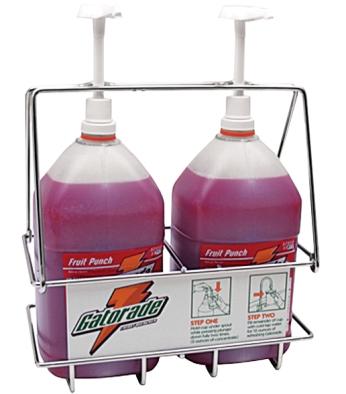 Dispenser Rack (includes 2 pumps)