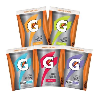 Gatorade 6 Gallon Powder Make Your Variety Pack
