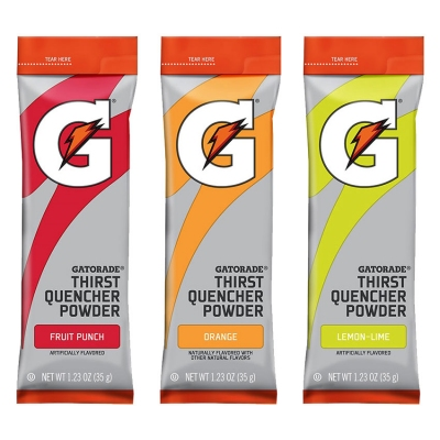 Gatorade 1.23 oz Bulk Mix & Match Powder Sticks  (Pack of 80)