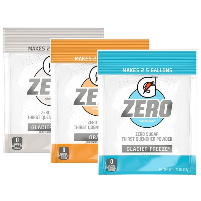 Gatorade G Zero 2.5 Gallon Bulk Mix & Match Powder (Pack of 32)