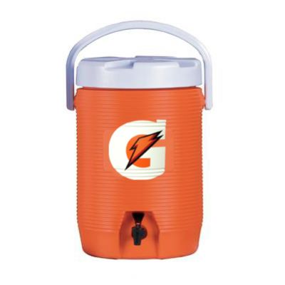 Gatorade 3-Gallon Cooler w/Dispenser - Original Bright Orange-Design Cooler