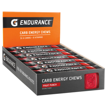 Gatorade Endurance Carb Energy Chews - Fruit Punch