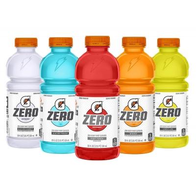Gatorade 20 oz Zero Thirst Quencher - 24 Bottles