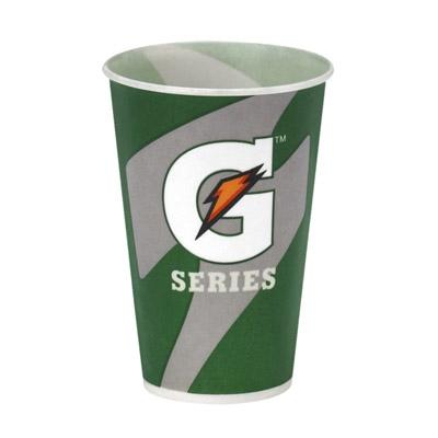 Buy 7 oz Gatorade Waxed Logo Paper Cups 2000/cs on sale online