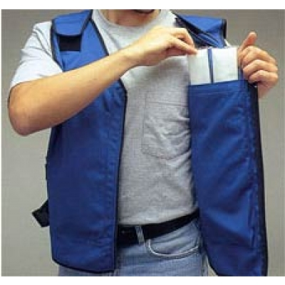 Allegro Cooling  Vest w/Phase Change Inserts - 4 Inserts Included