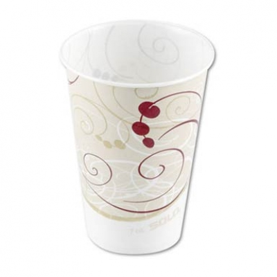 Waxed Paper Cold Cups, 7 oz