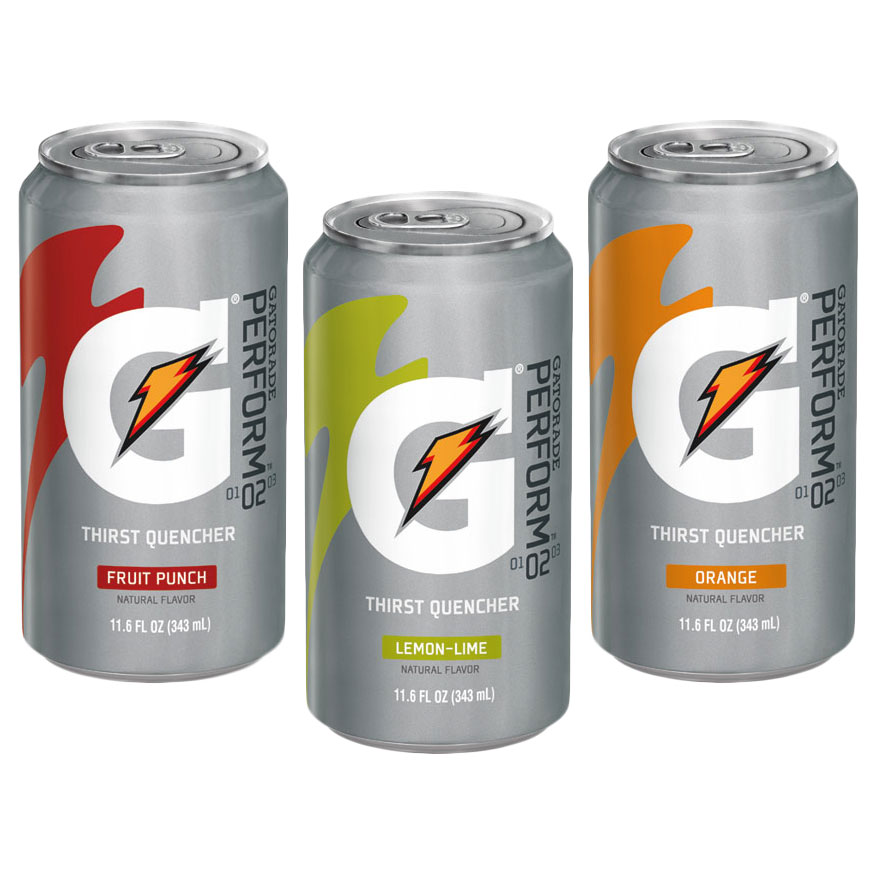 gatorade cans can gatorade 11 6 oz
