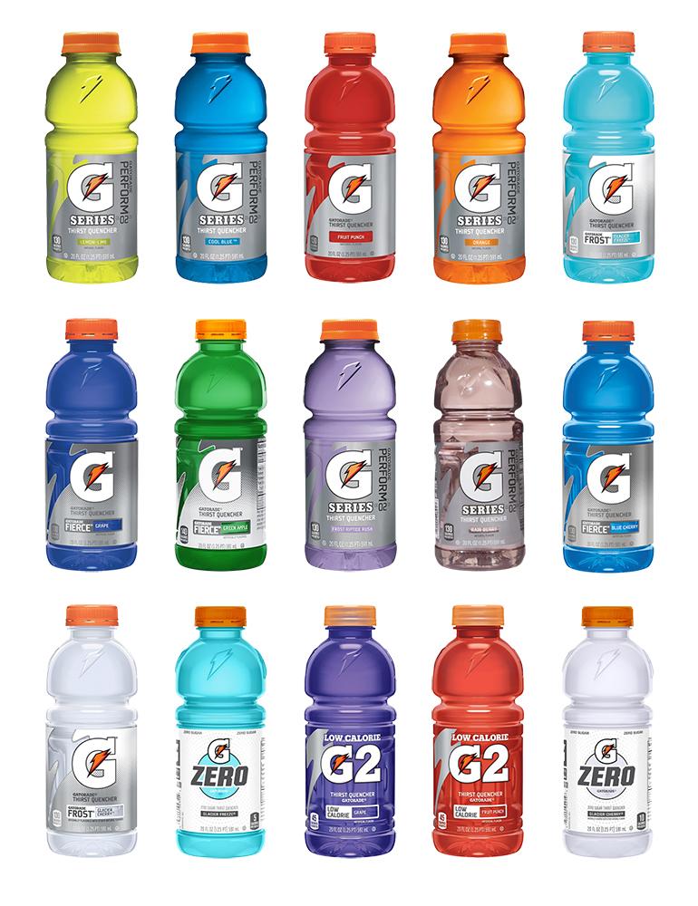 Gatorade 20 oz  Wide Mouth Bottles