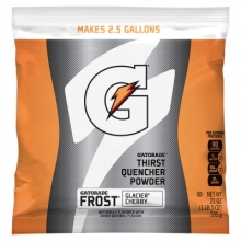 Buy Gatorade Glacier Cherry 2.5 Gallon Instant Powder  - 21 oz Gatorade Mix on sale online