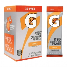 Gatorade Orange 1.23 oz Powder Sticks - Instant Gatorade Packs (Pack of 80)