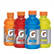 Gatorade 12 oz Bottle - 24/Case