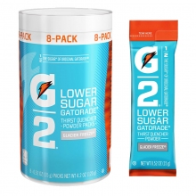 G2 Glacier Freeze .52 oz Powder Sticks Pack - Low Calorie Sports Drink