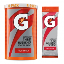 Buy Gatorade Fruit Punch 1.23 oz Powder Packets - Instant Gatorade Packs on sale online