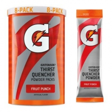 Gatorade Fruit Punch 1.34 oz Powder Packets - Instant Gatorade Packs