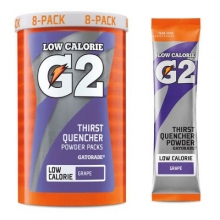 G2 Grape .52 oz Powder Sticks Pack - Low Calorie Sports Drink