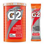 G2 Fruit Punch .52 oz Powder Sticks Pack - Low Calorie Sports Drink