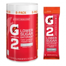 Buy G2 Fruit Punch .52 oz Powder Sticks Pack - Low Calorie Sports Drink on sale online