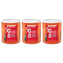 Buy Gatorade G2 Low Calorie Fruit Punch 6 Gallon Powder - Case of 3 - 19.4 oz on sale online