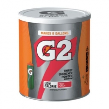 Gatorade G2 Low Calorie Fruit Punch 6 Gallon Powder - Case of 3 - 19.4 oz