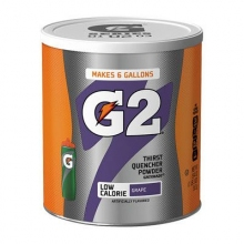 Gatorade G2 Low Calorie Grape 6 Gallon Powder - Case of 3 - 19.4 oz