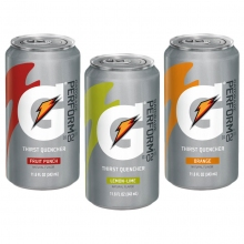 Gatorade Cans - Can Gatorade 11.6 oz - 24/Case
