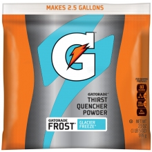 Buy Gatorade Glacier Freeze 2.5 Gallon Instant Powder Mix - 21 oz Instant Gatorade Mix on sale online