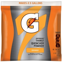 Buy Gatorade Orange 2.5 Gallon Instant Powder Mix - 21 oz Gatorade Mix on sale online