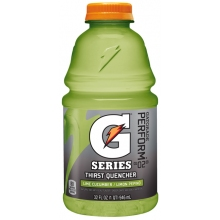 Gatorade Cucumber Lime Wide Mouth Bottle 32 oz -12 Bottles