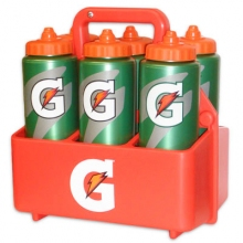 Gatorade Squeeze Bottle Carrier with 6 32 oz Bottles