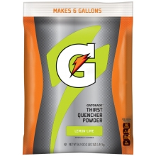Gatorade Lemon-Lime 6 Gallon Powder - 51 oz Instant Gatorade Mix