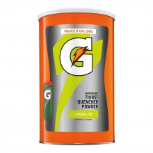 Buy Gatorade Lemon Lime 9 Gallon Instant Powder 6 per case - 76.5 oz Gatorade Mix on sale online