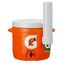 Gatorade 7 Gallon Cooler w/Dispenser - Original Bright Orange-Design Cooler
