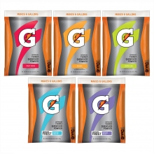 Buy Gatorade 6 Gallon Bulk Mix & Match - 51 oz Instant Gatorade Mix on sale online